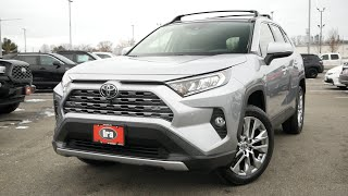 2020 Toyota RAV4 Limited Review - Start Up, Revs, and Walk Around