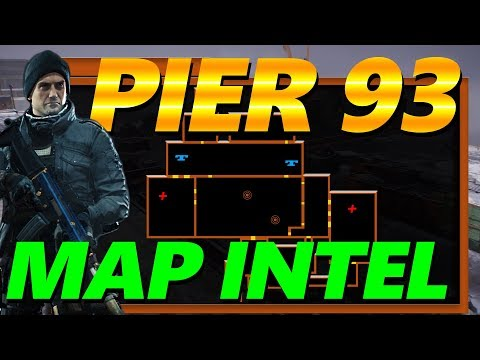 The Division Pier 93 Resistance Reward Cache Map Intel