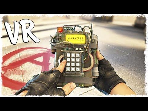 CS:GO в VR - ММ НА МИРАЖЕ!!!