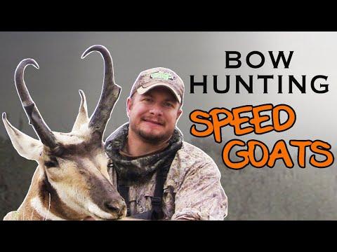 Trophy Antelope Bowhunt In Wyoming