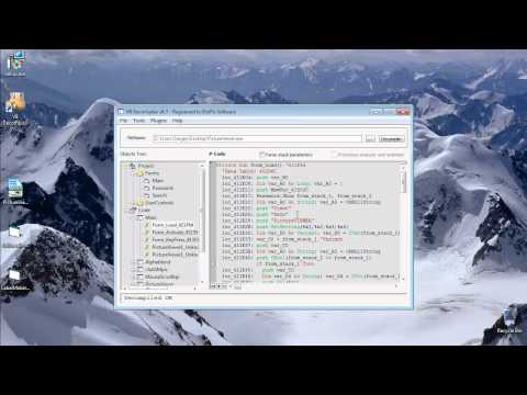 VB Decompiler P-Code VB6 File Decompilation