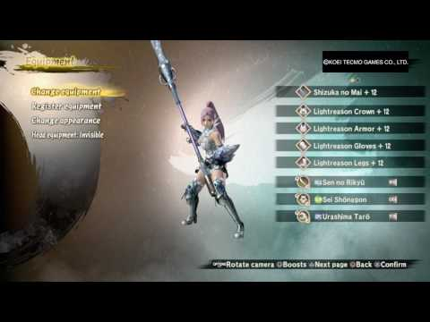 Toukiden 2 Any Weapon HLG Pure Vitality Healer Build