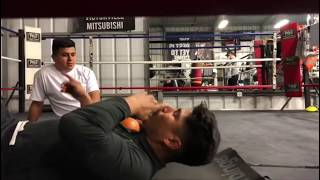Pita Fitness IS BACK ! Mikey Garcia first day at RGBA after training at Snac - EsNews