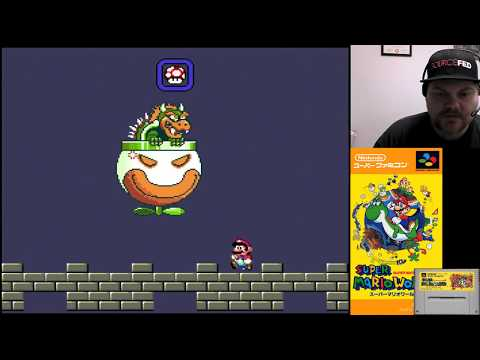 Super Mario World (Part 10 - BOWSER!) - SNES Classic | VGHI Play 'n' Chat Live Stream