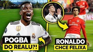 Paul POGBA blisko REALU MADRYT! Ronaldo prosi o transfer 19-LATKA!