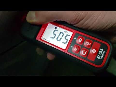 Крашенные элементы есть!! Проверка ЛКП автомобиля перед покупкой с помощью толщиномера ЕТ-555.