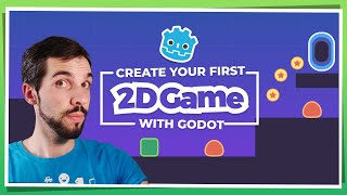Make Your First 2D Game with Godot: Player and Enemy (beginner tutorial part 1)