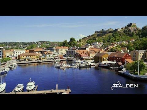 #Halden, Norges vakreste by!