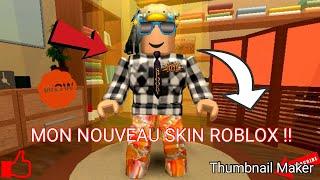 I PRESENT YOU MY NEW SKIN ROBLOX!! (TEE SHIRT FURIOUS JUMPER, CHAPEAU OF OISEAU ECT... )
