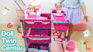 赤ちゃんお世話セット メルちゃん ネネちゃんのお世話 / Baby Dolls Nursery Center and Mell-chan Doll