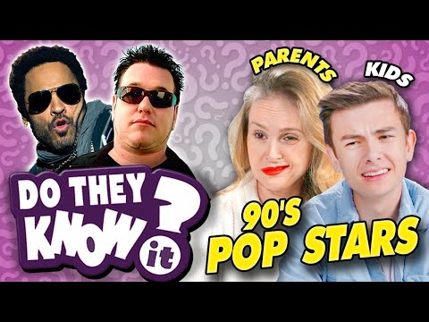 Do Teens Know 90s Pop Stars  Madonna Smash Mouth Lenny Kravitz