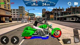 Ultimate Motorcycle Simulator #5 - Bike Games Android gameplay
