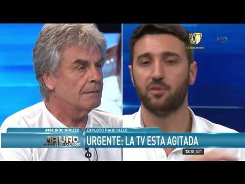 Raúl Rizzo y un encendido debate: Dame una razón para que no se repita lo del 2001
