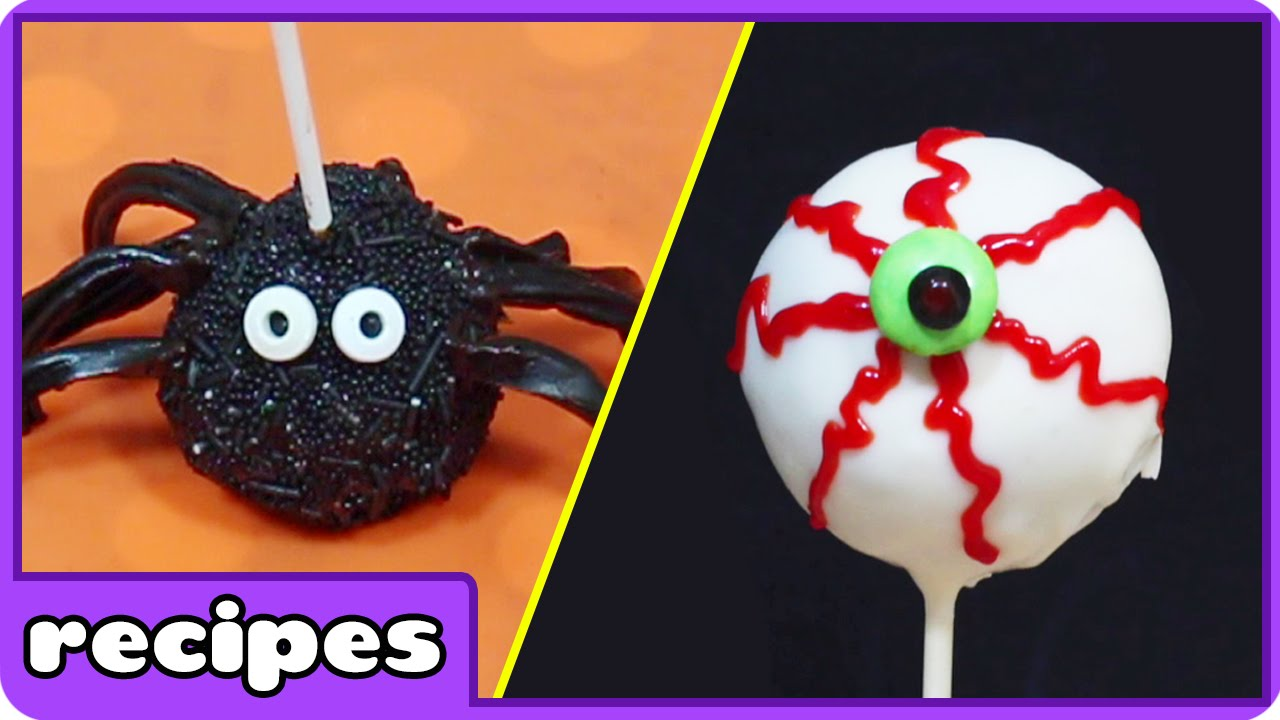 halloween cake pops and easy dessertshooplakidz recipes - youtube