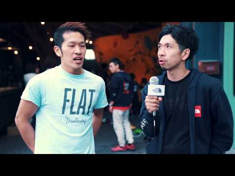 THE NORTH FACE CUP 2018 Round4 FLAT Bouldering