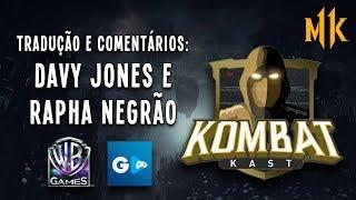 LIVE - Mortal Kombat 11 - Kombat Kast: Tradução e comentários com Davy Jones e Rapha Negrão