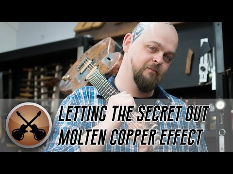 How to Make a Molten Copper Finish Effect