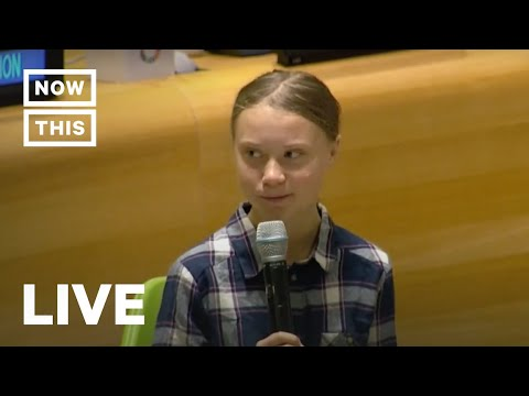 Youth Activists Including Greta Thunberg Open UN Youth Climate Summit | NowThis