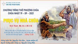 HTTL PHAN RANG - Chương trình thờ phượng Chúa - 19/09/2021
