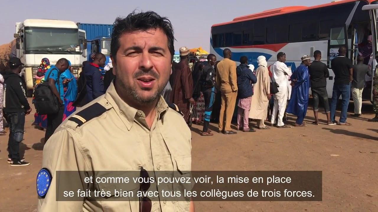 EUCAP Sahel Niger: Exercice pratique en lutte contre la fraude documentaire