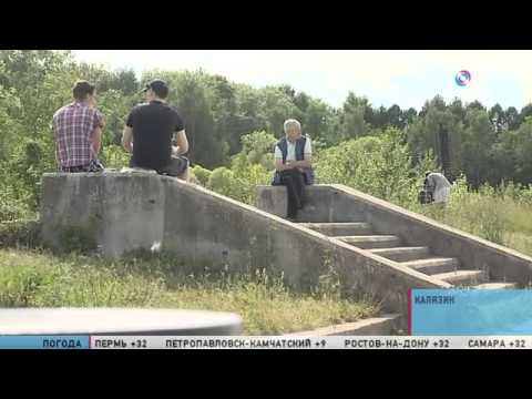 Малые города России: Калязин - город с колокольней посреди реки