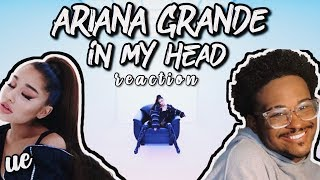 I'm wigless. | Ariana Grande - In My Head VOGUE Cover Video Performance reaction!