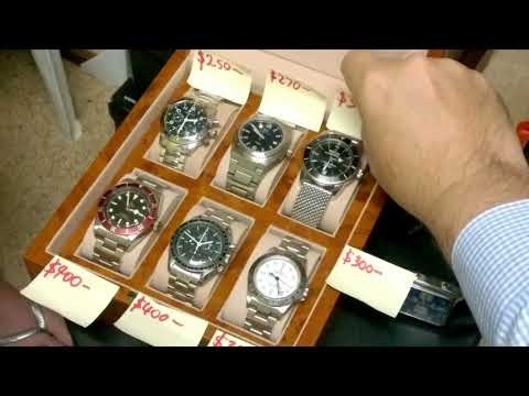 ASK A NORMAL PERSON WHAT MY WRIST WATCHES COST - PART 1