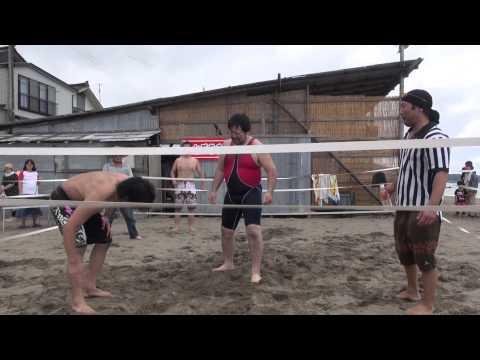 2013 07 15谷浜海水浴場マッチ第一試合