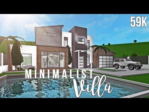 Bloxburg: Minimalist Villa 59K