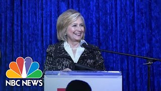 Hillary Clinton On Suspicious Package: 'We Have To Bring Country Together' | NBC News