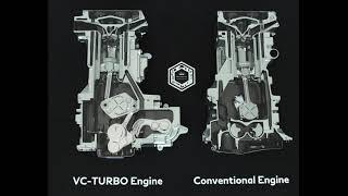 Infiniti QX50 VC Turbo Engine Cutout   Video