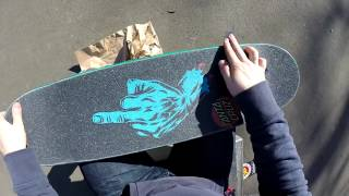 Skateboard Setup SANTA CRUZ Deck (First-Person)