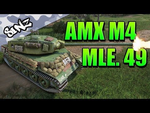 THE BEST PREMIUM TANK? (AMX M4 mle. 49 Gameplay) - World of Tanks Console | Tank Review