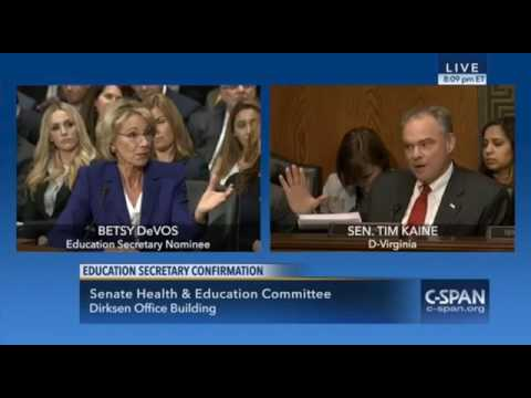 The Worst of Betsy DeVos Highlights  - Bernie Sanders, Elizabeth Warren, Tim Kaine, and Al Franken