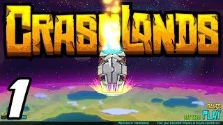 Crashlands E01 - Getting Started! (Gameplay / Playthrough / 1080p)