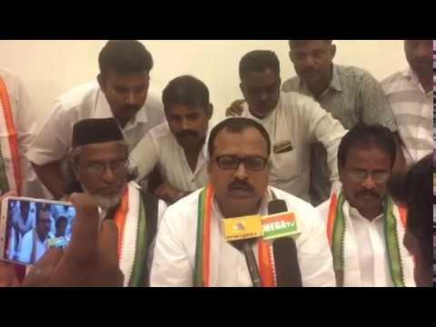 State Chairman Dr Aslam Basha Ji Addressing Press Meet At Coimbatore  District Executive Minority