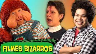 5 Filmes BR mais BIZARROS e ESTRANHOS! 😱 🇧🇷  (ft. Robson Nunes)