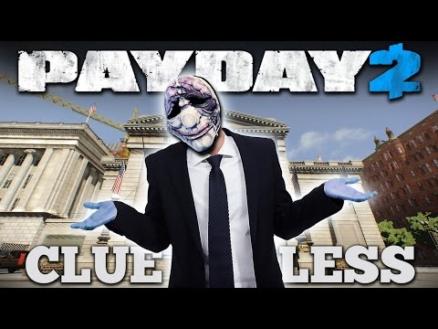 CLUELESS - Big Bank Loud, NO SKILLS [Payday 2 Trophies]