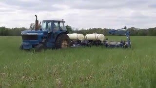 Here's how we plant beans into cereal rye in Seneca County!