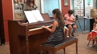 "Aria plays ""Cuckoo"" and ""Allegretto II"""