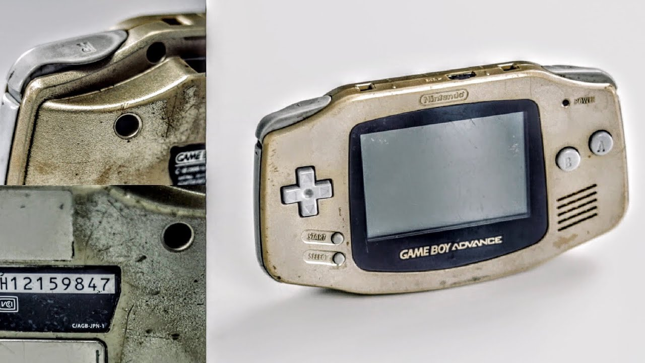 $15 GameBoy Advance Repair & Restoration!