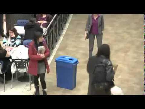 Видео, флэшмоб в торговом центре