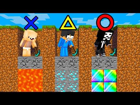 【マイクラ】ダイヤ掘り当て対決の茶番マインクラフト【マインクラフト 】【まいくら】
