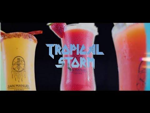 Tropical Storm Bar - San Manuel Casino - Продолжительность: 0:31