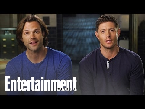 Supernatural Stars on Winning the EW Fall TV Cover Battle | Cover Shoot | Entertainment Weekly