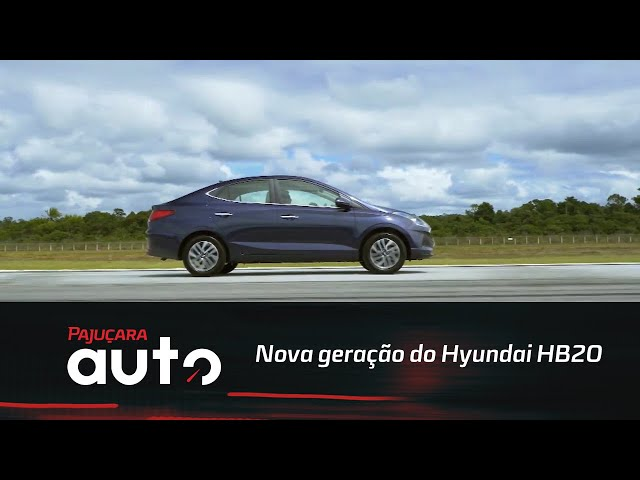 Conheça a nova geração do Hyundai HB20
