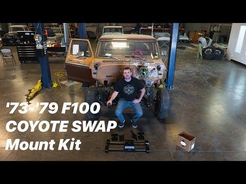 1973-1979 Ford F100 Coyote Swap Mount Kit! - Fat Fender Garage