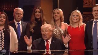 Hallelujah Cold Open   SNL Team Trump Assembles for 'Hallelujah' in Cold Open