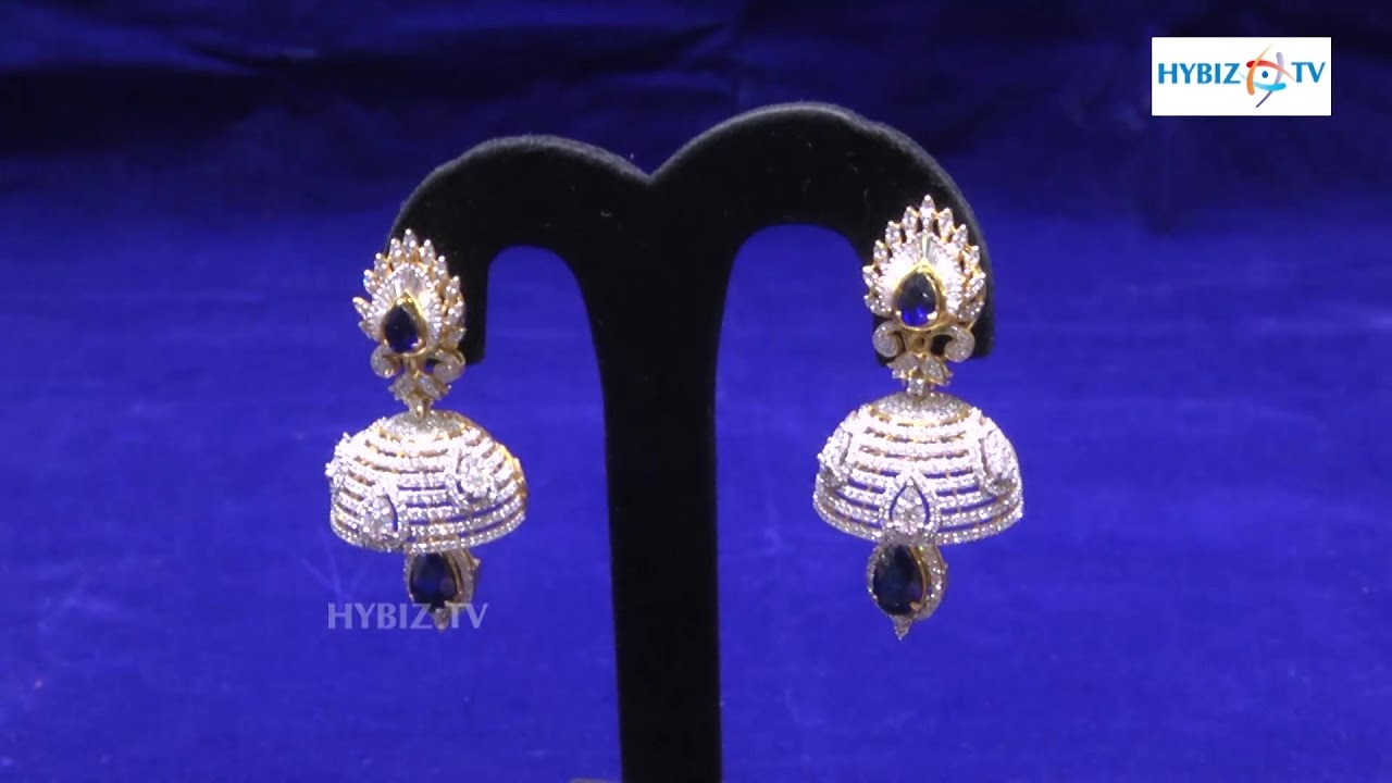 stylish product american diamond set earring buy jhumka joyas