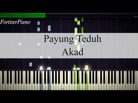 Payung Teduh - Akad (Synthesia Piano)